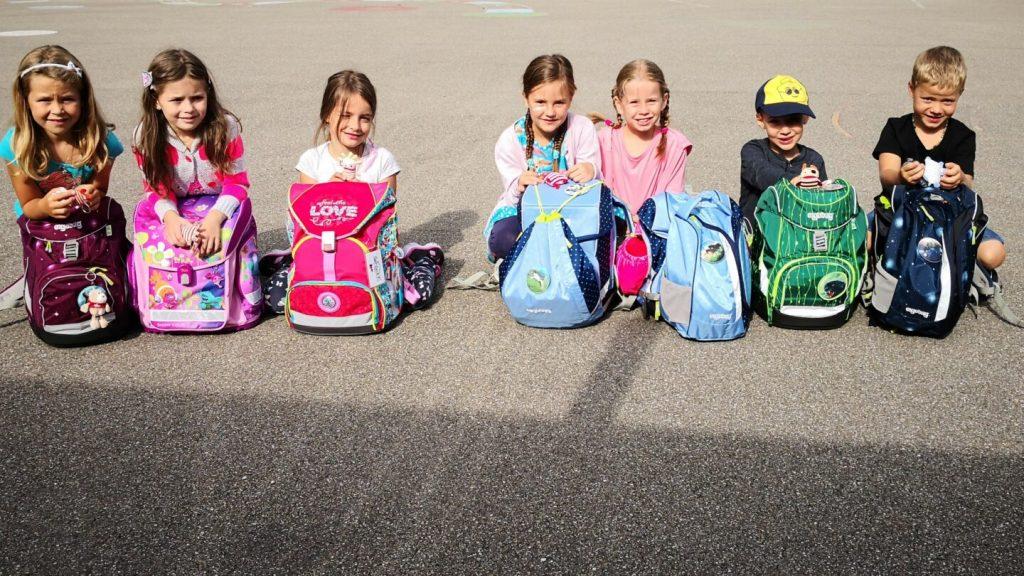 Der erste Schultag im neuen Schuljahr